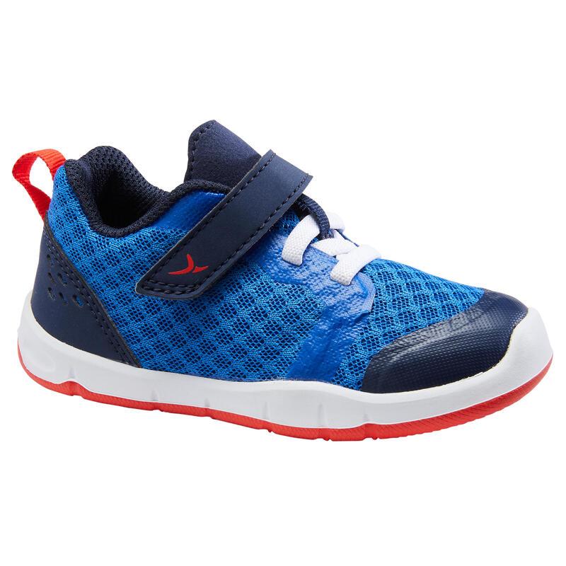 Zapatillas Bebé primeros pasos Domyos 520 I Learn Breath+ azul tallas 20 al 24