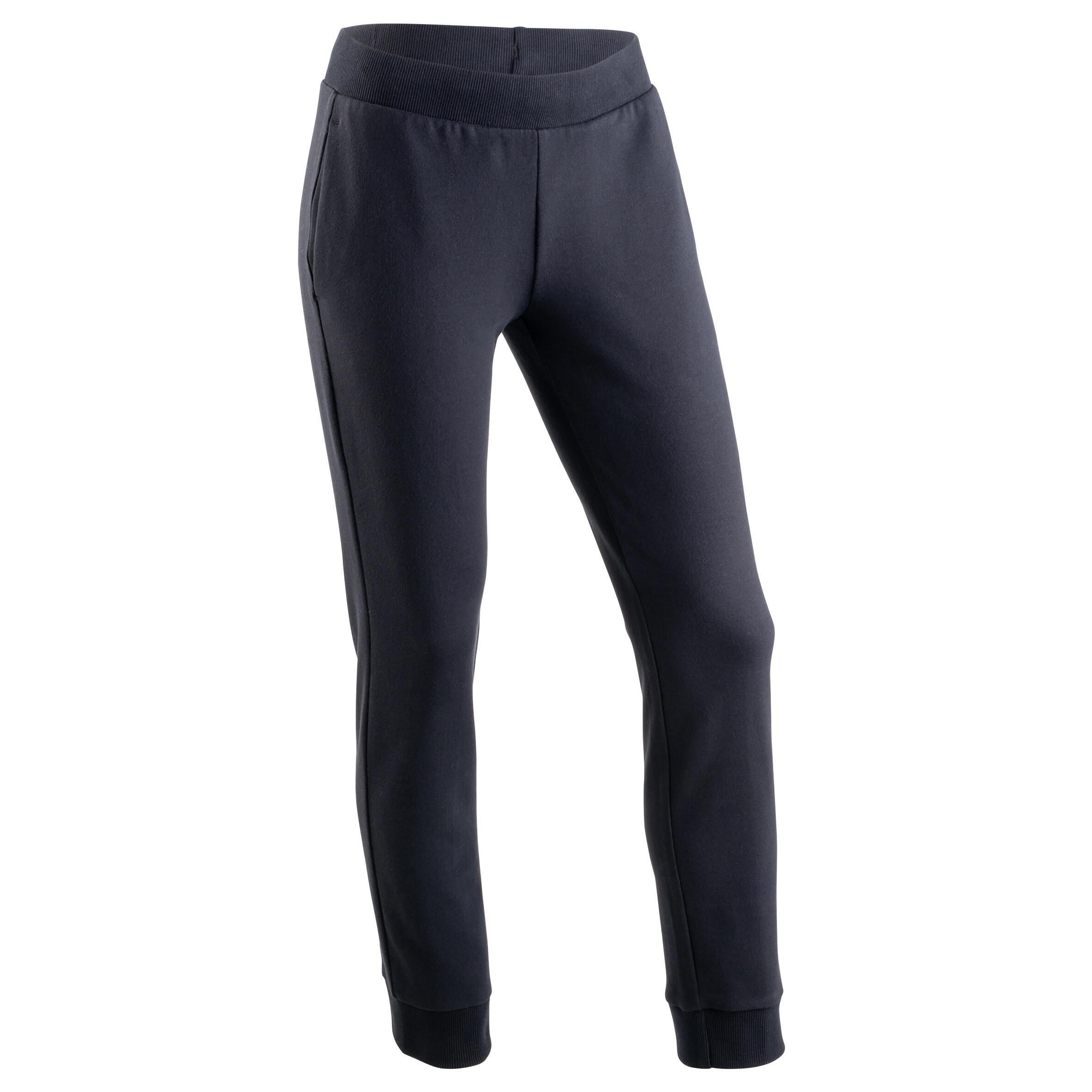 Pantalon 100 negru fete imagine