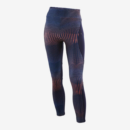 S500 breathable synthetic gym leggings - Girls