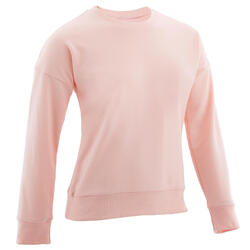 Sweat col rond rose ENFANT