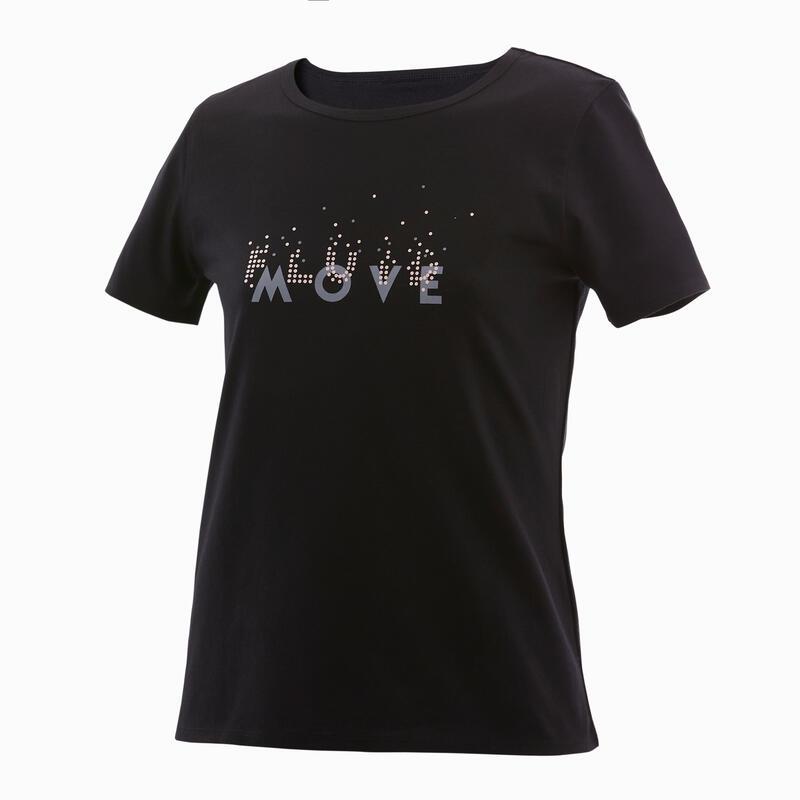 Kids' Basic T-Shirt - Black Print