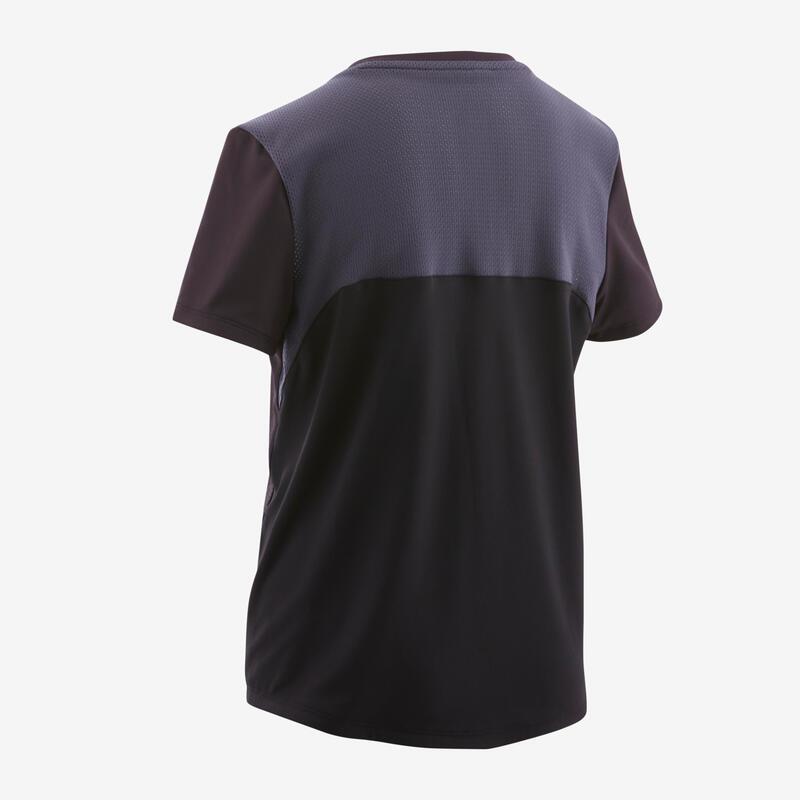 T-shirt respirant noir imprimé ENFANT