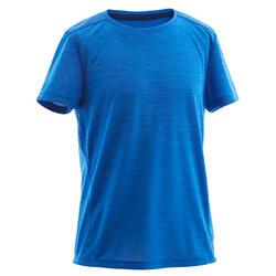 T-Shirt atmungsaktiv Kinder blau