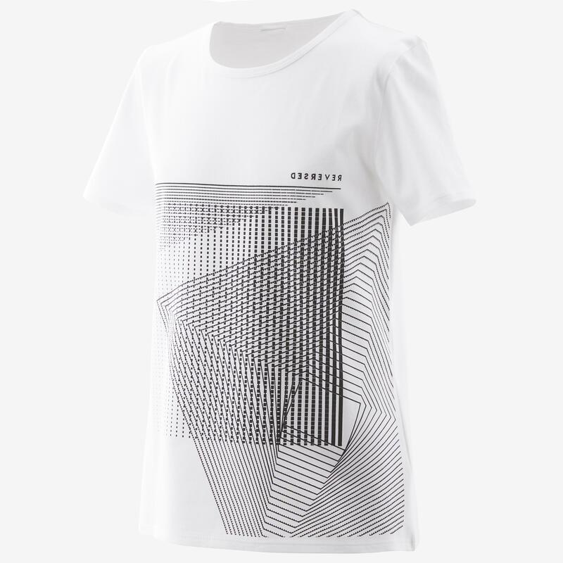 T-Shirt basique blanc imprimé ENFANT