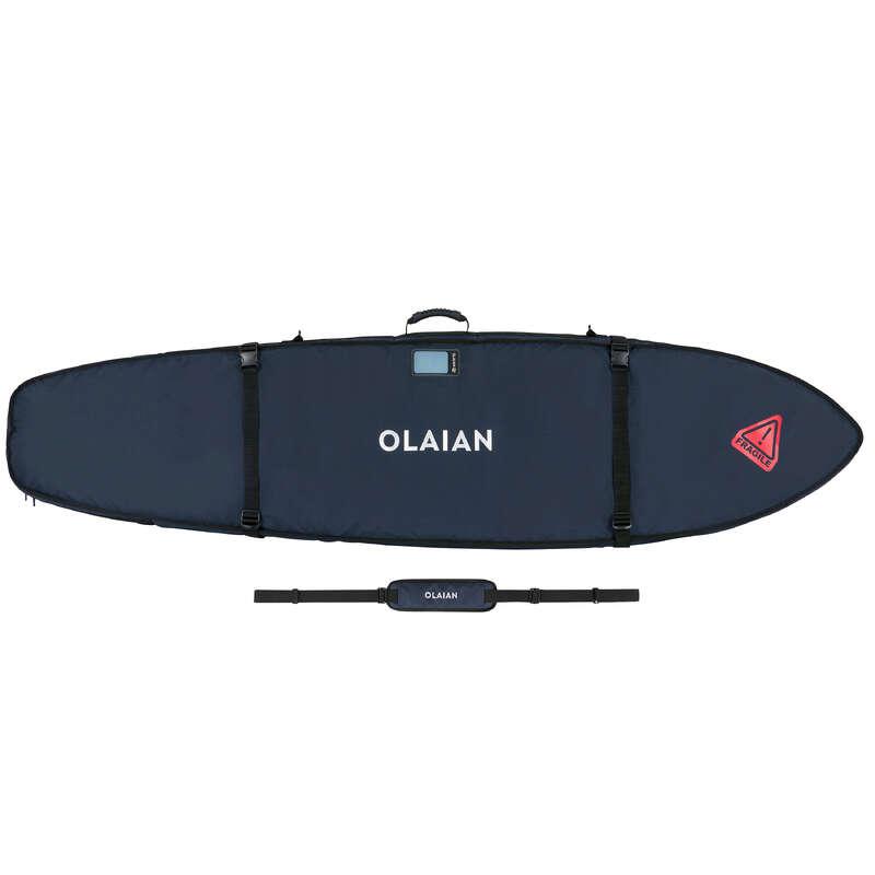 TRANSPORT ȘI DEPOZITARE SURF Surf, Bodyboard, Wakeboard - Husă transport 900 2 plăci  OLAIAN - Placi surf si echipament