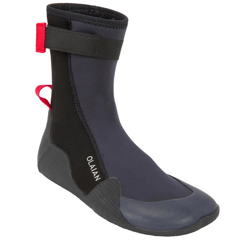 Kids' shoes 500 3 mm - black/red