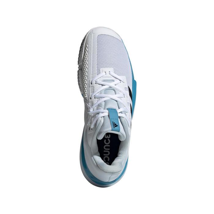 Chaussures de tennis Homme Solematch Bounce Multi Court Blanches Bleues