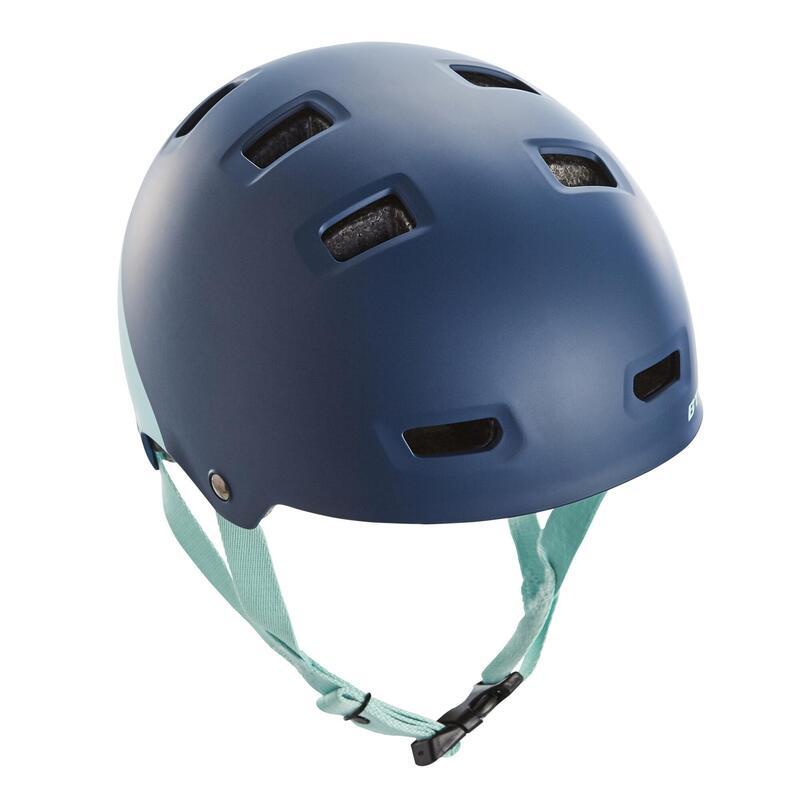 Çocuk Bisiklet Kaskı - Mavi - TEEN 520 XS