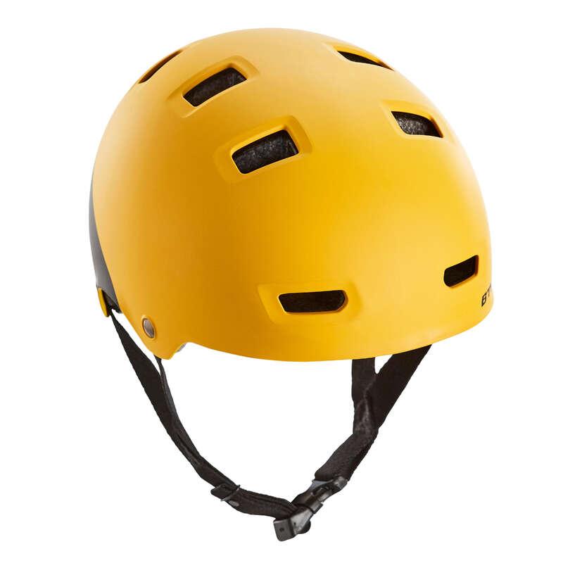 ШЛЕМЫ ДЕТСКИЕ Велоспорт - Велошлем дет. Teen 520 XS желт BTWIN - Экипировка