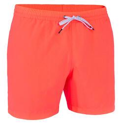 Costume mare uomo arancione corto