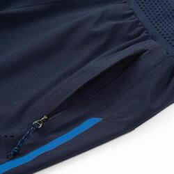 男童透氣機能性健身短褲W900 - 軍藍色