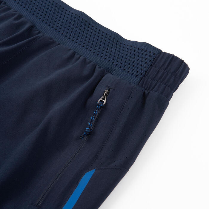 Boys' Breathable Technical Gym Shorts W900 - Navy Blue