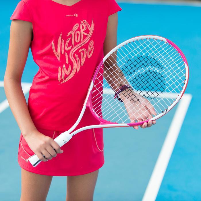 TR130 23 Girls' Tennis Racket - White/Pink - 195900