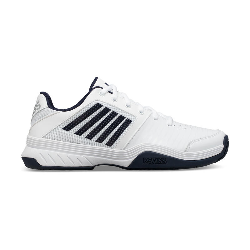Zapatillas de Tenis Kswiss Court Express Tierra Batida Hombre Blanca