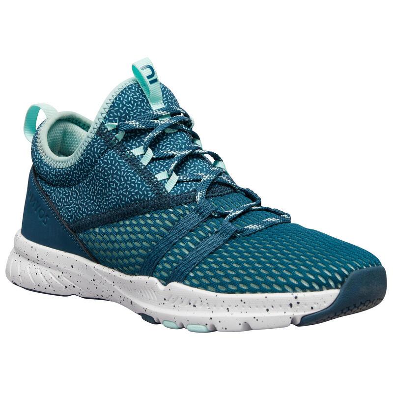 Chaussures de fitness 140 mid femme verte