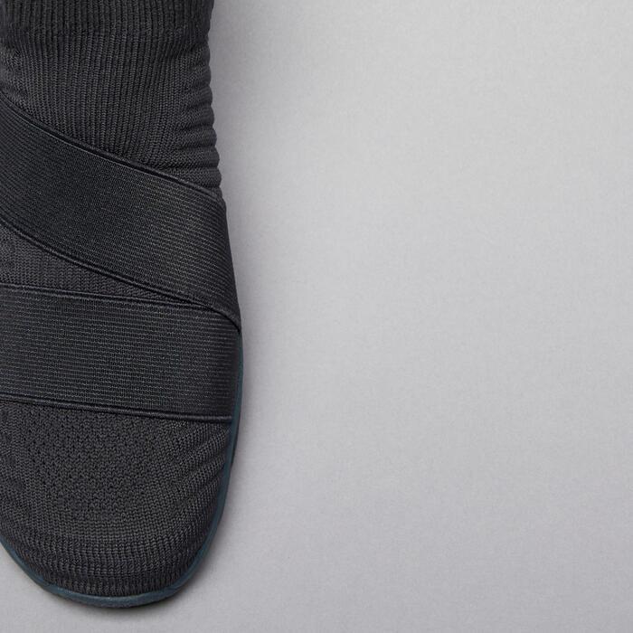 Calçado de Cardio 500 sem Atacadores Cinzento