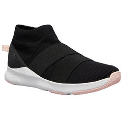 Slip-on Fitness Shoes 500 - Black