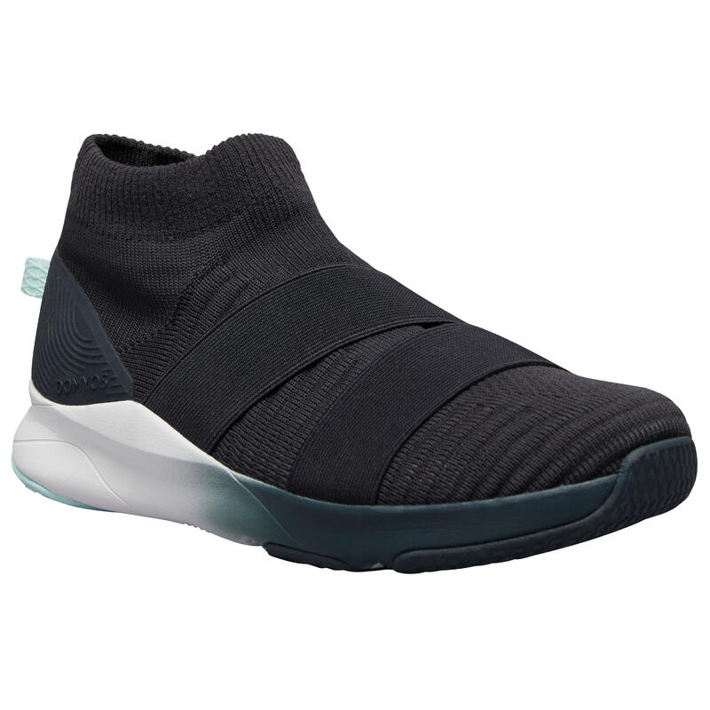 Slip-on Fitness Shoes 500 - Grey