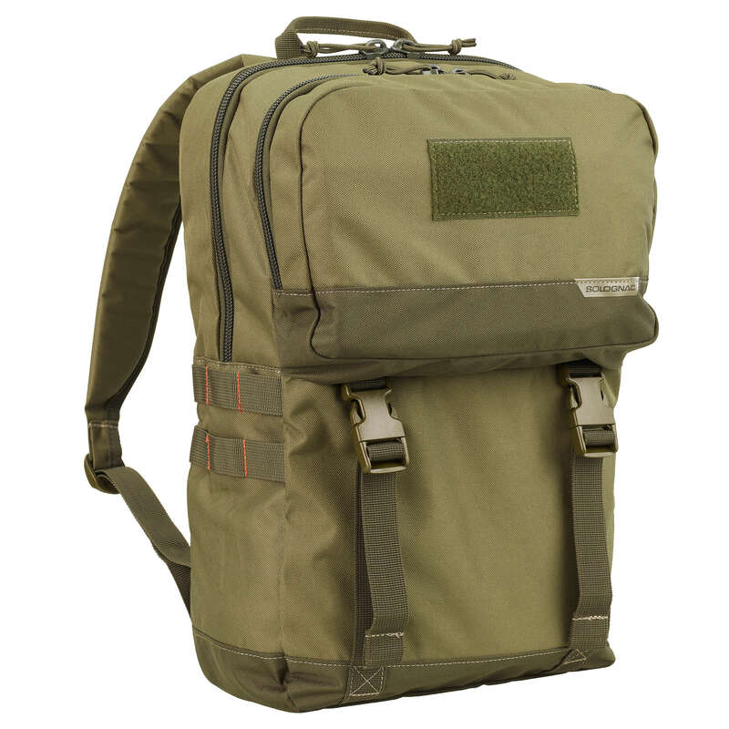 Jagdrucksäcke, Taschen Jagd und Sportschiessen - RUCKSACK 20 L GRÜN SOLOGNAC - Jagdbekleidung