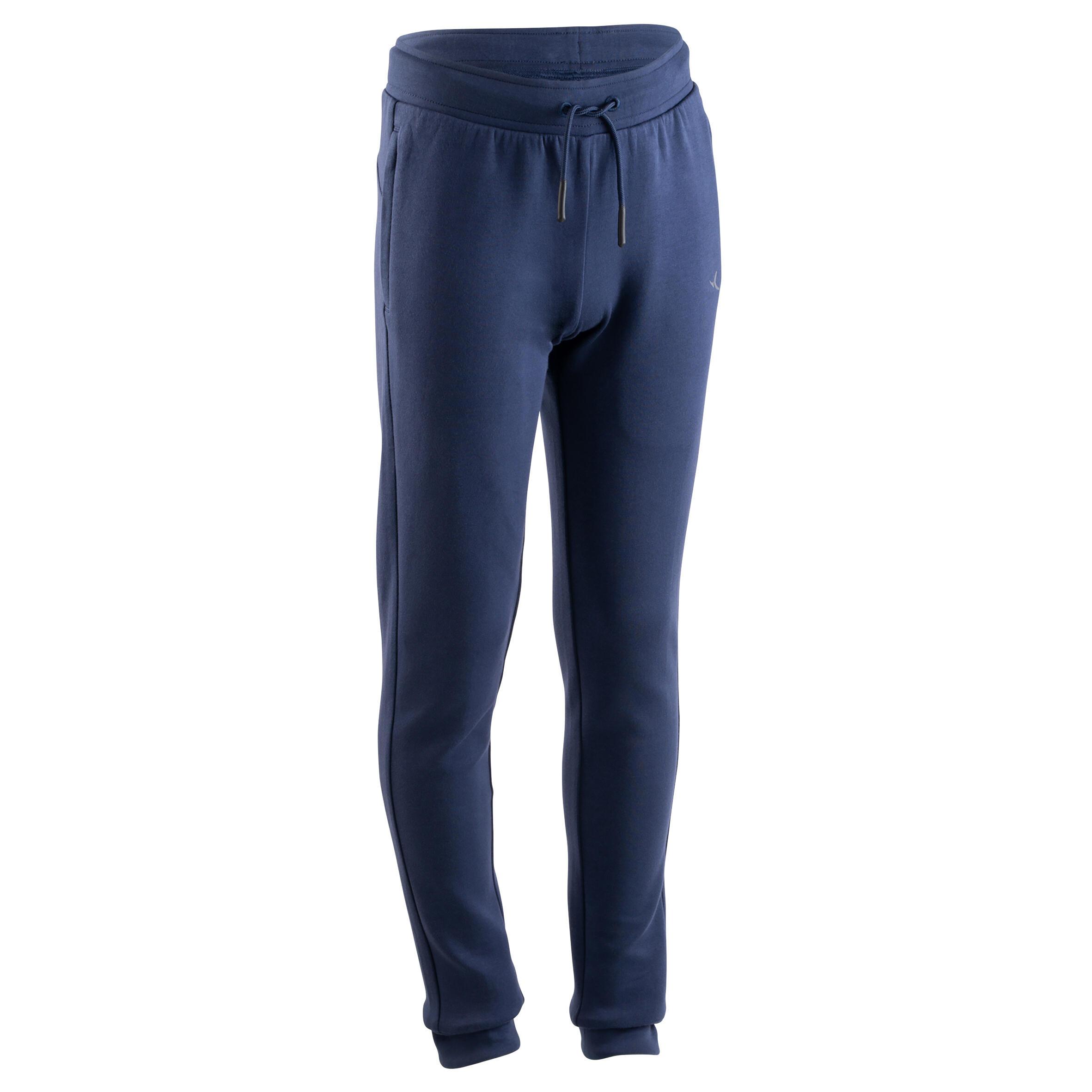 Pantalon slim 500 băieți imagine