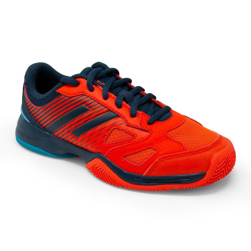 Kids' Padel Shoes PS 500 JR Lace - Red/Black