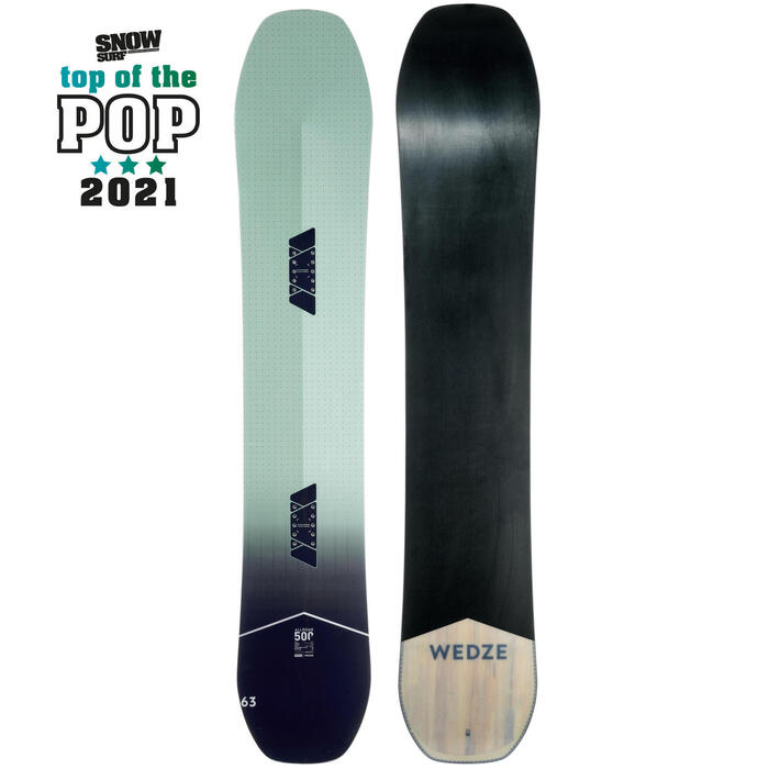 Planche de snowboard piste & all mountain, homme, All Road 500