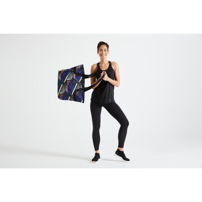運動托特包:健身的必備單品。不論在健身房或任何地方都實用!
