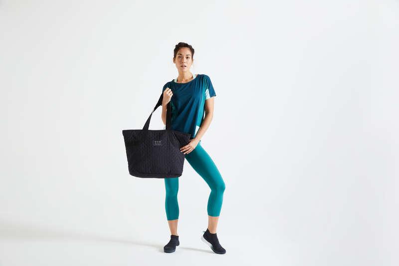 TORBE I DODACI ZA KARDIOFITNES ZA SVE RAZINE Fitness - Sportska torba 25 l crna DOMYOS - Nova fitness kolekcija jesen i zima