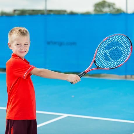 raquette de tennis enfant tr130 21 rouge artengo. Black Bedroom Furniture Sets. Home Design Ideas