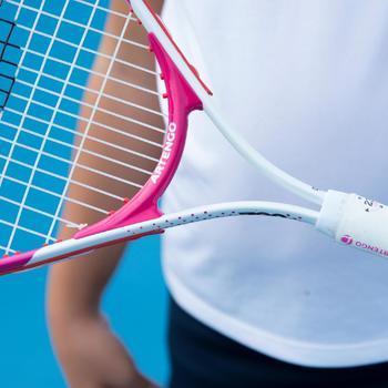 TR130 23 Girls' Tennis Racket - White/Pink - 195973
