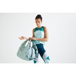 Sporttasche Baumwolle 30l grün