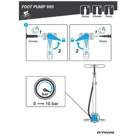 900Foot Pump