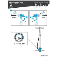Pompe à pied900