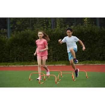AT 100 kid's athletics T-shirt breathable pink
