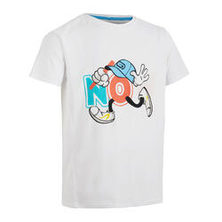 AT 300 Kid' Running Short-Sleeved Breathable T-Shirt - White CN1