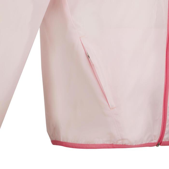 兒童款田徑防風外套AT 100 (限定版)- 粉紅色