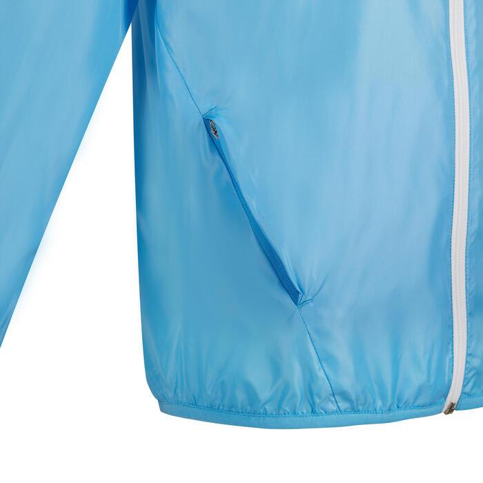 兒童款田徑防風外套AT 100(限定版)- 藍色
