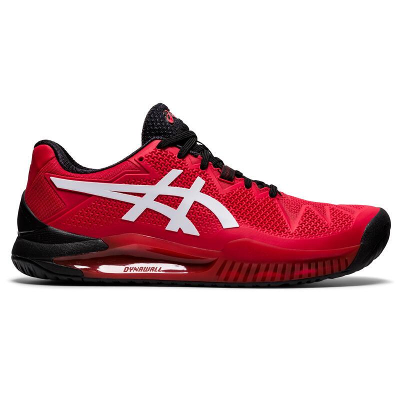 Tennisschoenen voor volwassenen Gel Resolution 8 rood multicourt