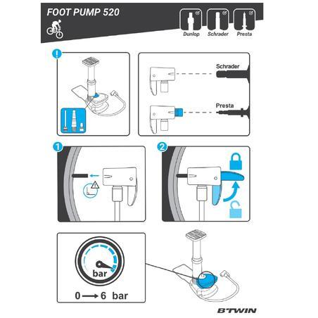 520 Foot Pump