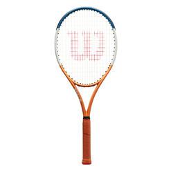 Raquette de tennis adulte BURN 100LS V4.0 Edition Roland Garros Orange Bleue