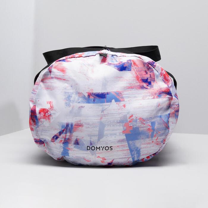 摺疊健身包30 L - 白色