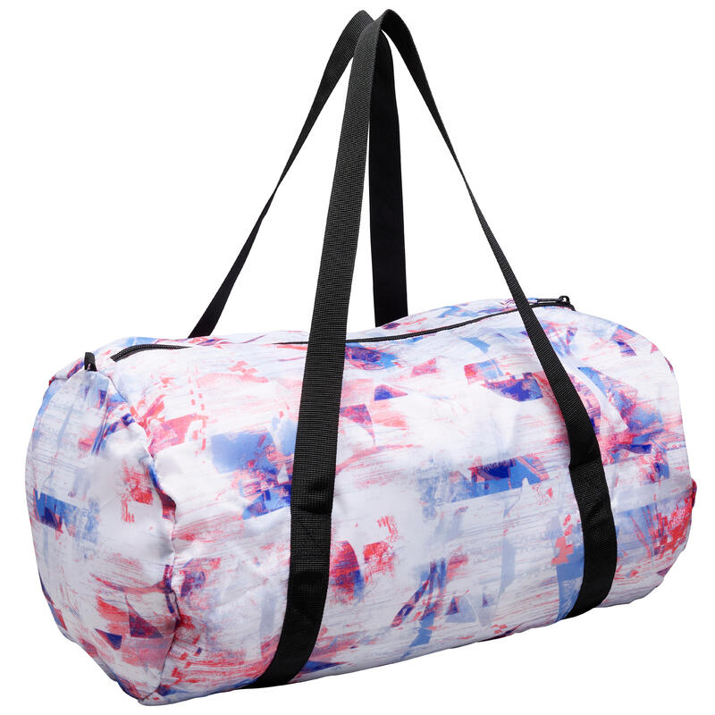 30L Folding Fitness Bag - White