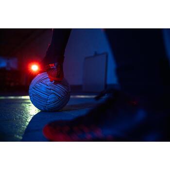 成人大釘足球鞋CLR FG - 白色/綠色