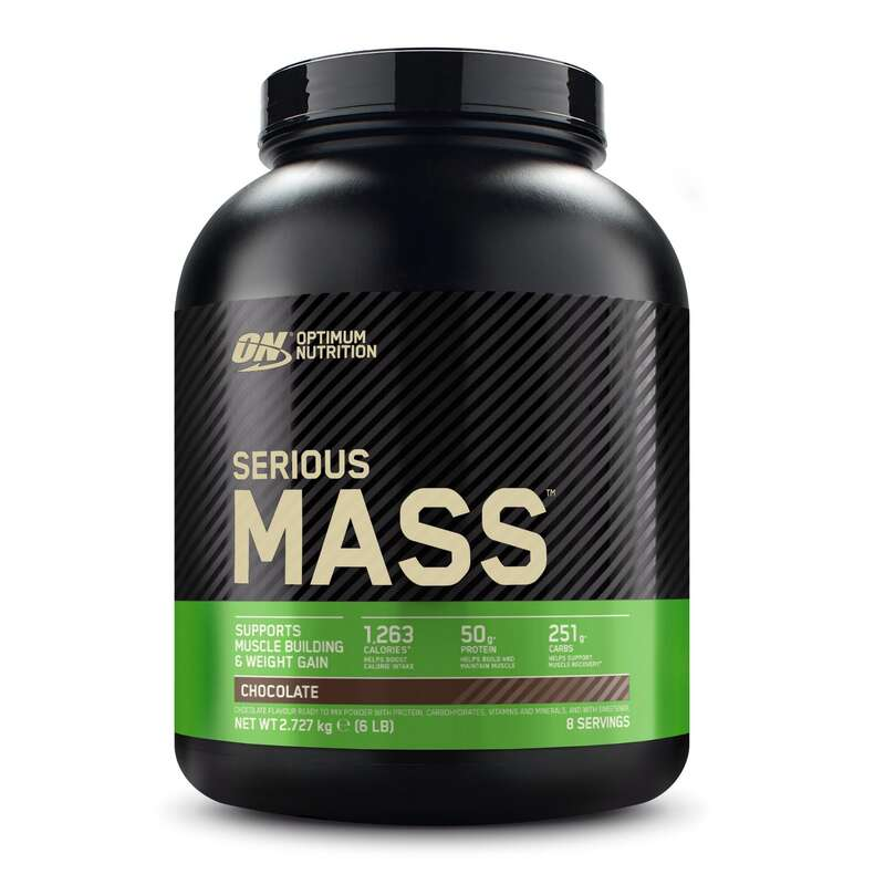 PROTEINE ȘI SUPLIMENTE ALIMENTARE Fitness Cardio, Bodybuilding, Crosstraining, Pilates - Serious Mass 2,7Kg OPTIMUM NUTRITION - Proteine si suplimente alimentare
