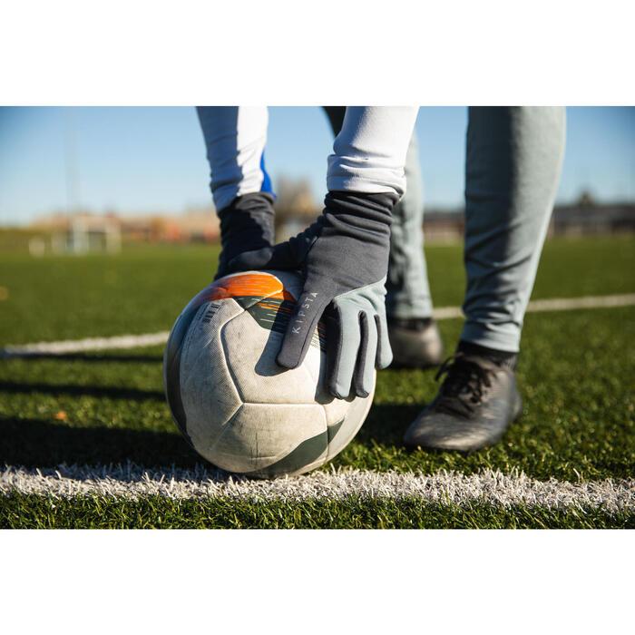 Gants Keepdry 500 adulte football noir