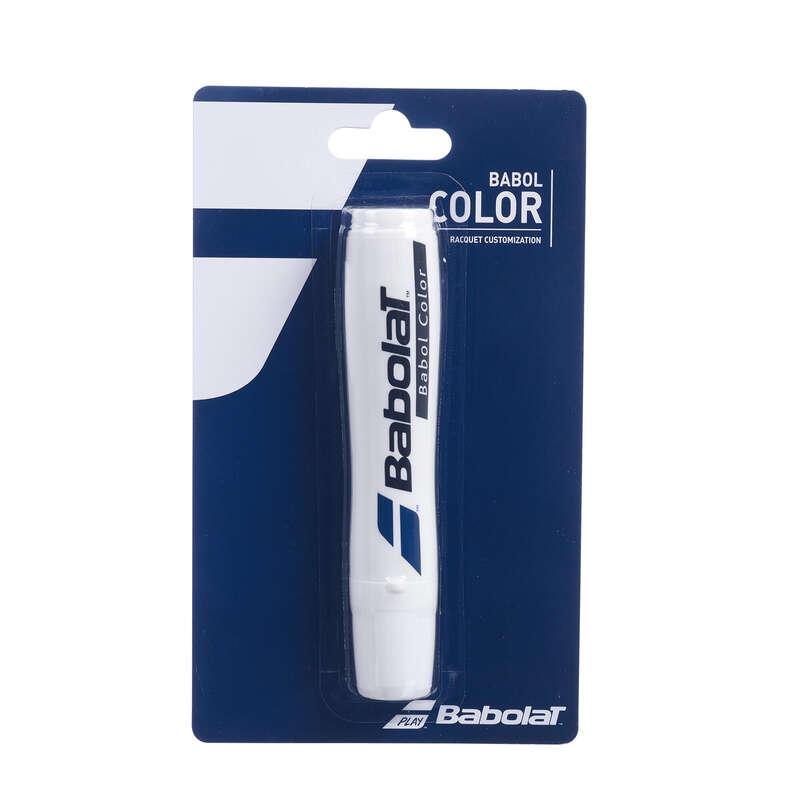 Servicepoint Tennis, Racketsport Tennis - Markierungsspray weiß BABOLAT - Tennis Ausrüstung