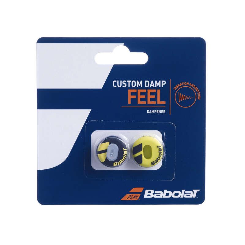 Tennisschläger Zubehör Tennis - Vibrationsdämpfer Custom Damp BABOLAT - Tennis Ausrüstung