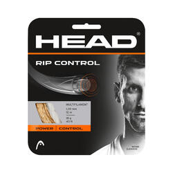 CORDA DE TÉNIS HEAD MULTIFILAMENTOS RIP CONTROL 1,30mm NATURAL