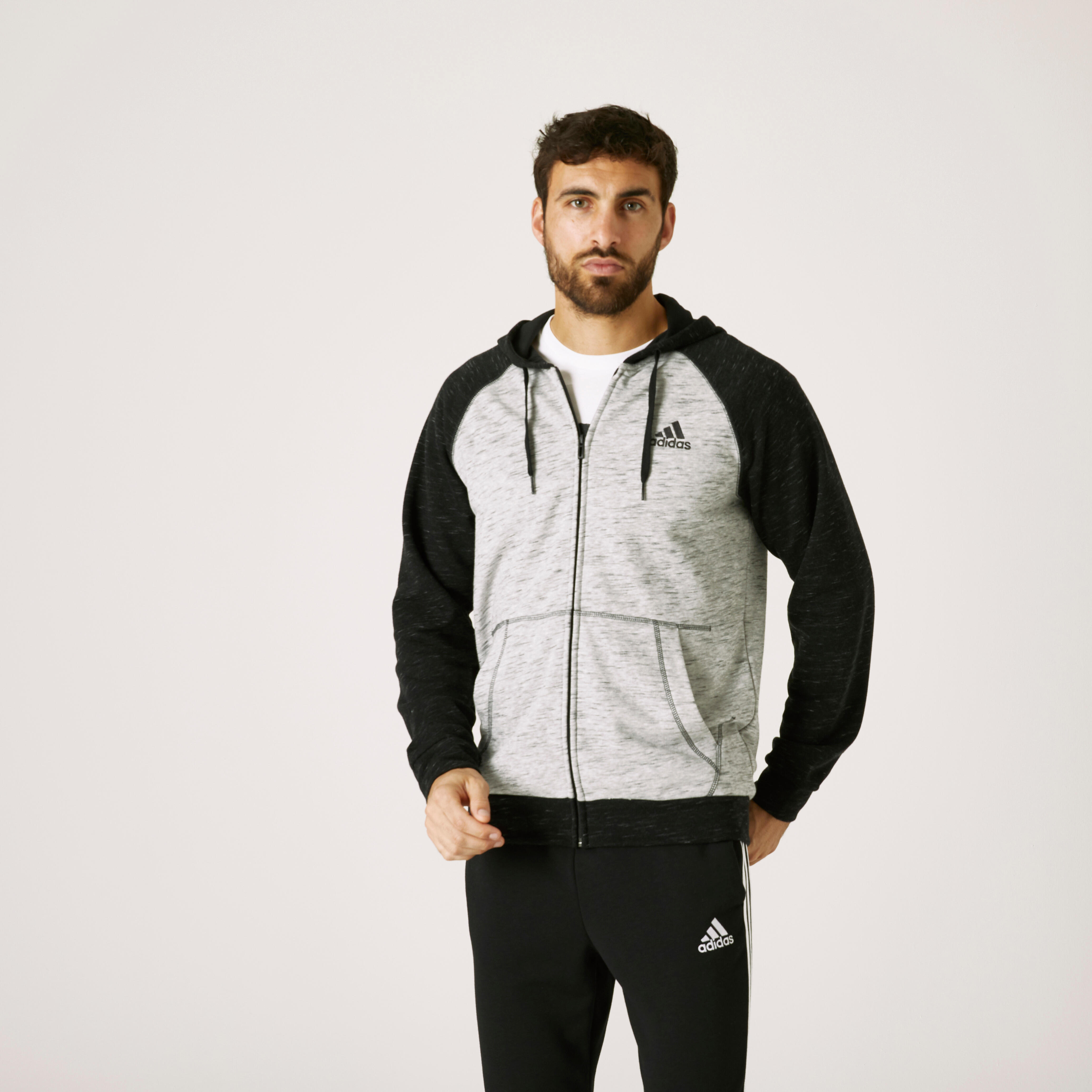 Hanorac Adidas Negru Bărbați imagine