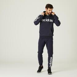 Pantalon jogging Adidas Fitness Linear Bleu Marine